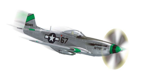 Squadron Models 1/72 P-51D Mustang Pre-Painted Quick Kit