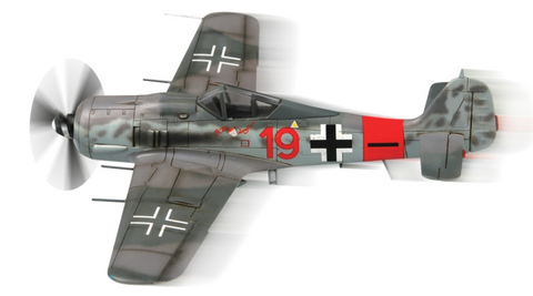 Squadron Models 1/72 FW 190A-8 Pre-Painted Quick Kit