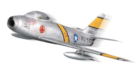 Squadron Models 1/72 F-86F-30 Sabre Pre-Painted Quick Kit