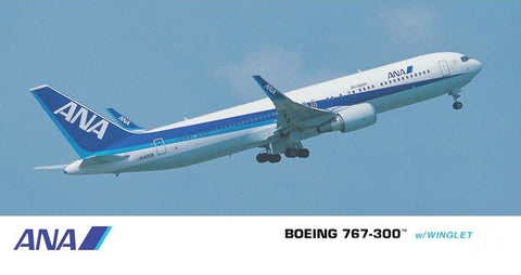 Hasegawa Aircraft 1/200 ANA B767-300 Commercial Airliner w/Winglet Kit