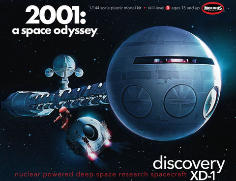 Moebius Models Sci-Fi 1/144 2001 A Space Odyssey Discovery Kit
