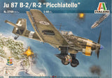 Italeri Aircraft 1/48 JuB2/R2 Picchiatello Dive Bomber Kit