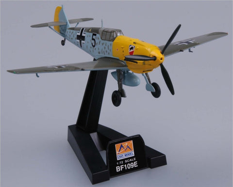 Easy Model Aircraft 1/72 BF109E-3 1/JG52 - Assembled