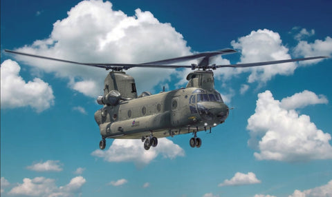 Italeri Aircraft 1/48 Chinook HC1 (CH47F) Helicopter Kit