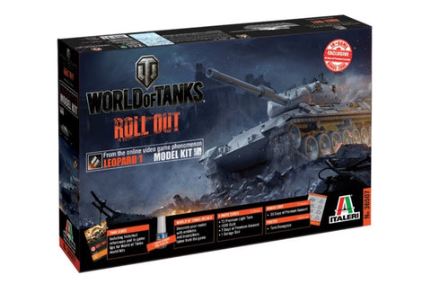 Italeri Wargame World of Tanks 1/35 Leopard 1 A2 Kit