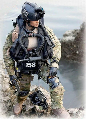 ICM Military 1/24 SEAL Team Fighter #1 (New Tool) Kit