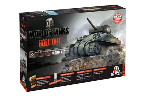 Italeri Wargame World of Tanks 1/35 M4 Sherman Kit