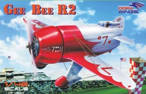 Dora Wings 1/48 Bee Gee R2 Super Sportster Aircraft Kit