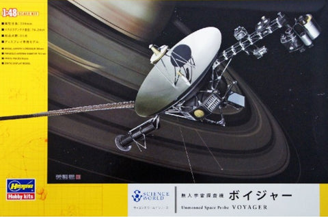 Hasegawa Space & Sci-Fi 1/48 Voyager Unmanned Space Probe Kit