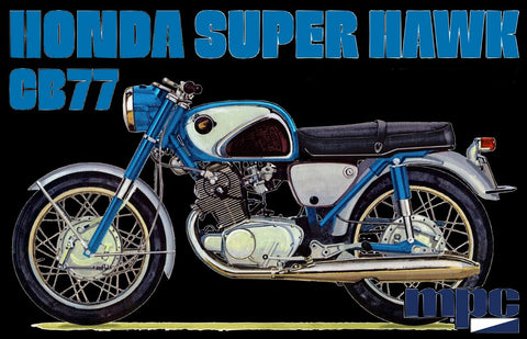 MPC Model Cars 1/16 Honda Super Hawk Motorcycle Kit