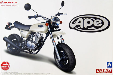 Aoshima Car Models 1/12 Honda Ape 50 Motorcycle Kit