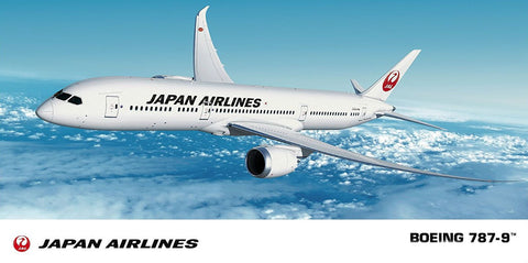 Hasegawa Aircraft 1/200 JAL B787-9 Commercial Japan Airliner Kit