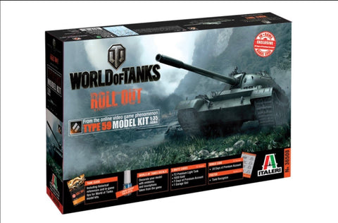 Italeri Wargames World of Tanks 1/35 Type 59 Kit