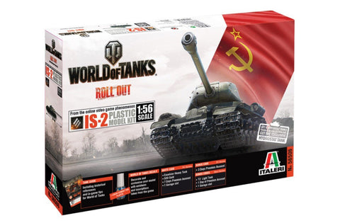 Italeri Wargame World of Tanks 1/56 IS-2