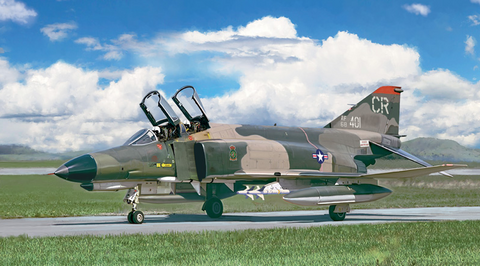 Italeri Aircraft 1/48 F-4E Phantom II Kit