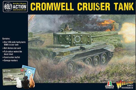 Warlord Games 28mm Bolt Action: WWII Cromwell Mk IV British Cruiser Tank Kit