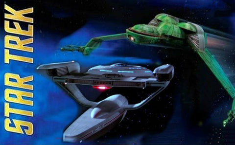 Polar Lights Sci-Fi 1/1000 USS Grissom/Klingon Bird of Prey Kit