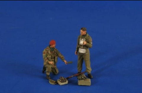 Verlinden Productions 1/35 Red Devil & Glider Pilot
