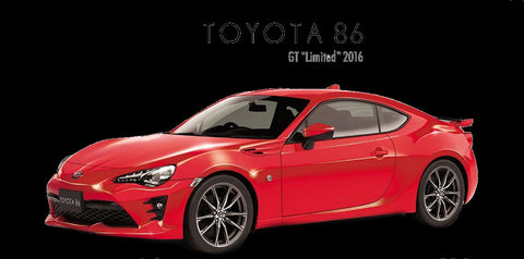 Aoshima Car Models 1/24 2016 Toyota 86 GT Limited 2-Door Car Kit
