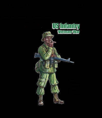 Mars Military 1/32 US Infantry Vietnam War (18) Kit
