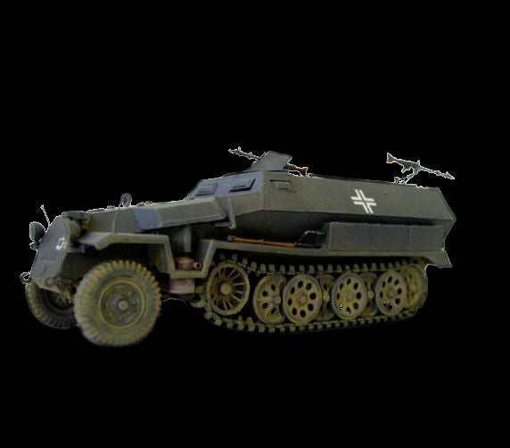 AFV Club Military 1/35 SdKfz 251/1 Ausf C Halftrack Kit