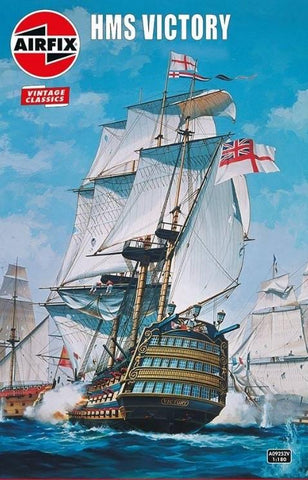 Airfix Ship Models 1/180 HMS Victory Ship (Re-Issue) Kit