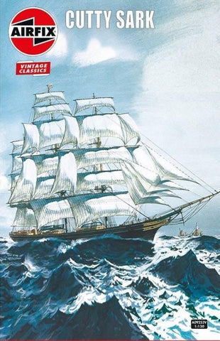 Airfix Ship Models 1/130 Cutty Sark Ship (Re-Issue) Kit