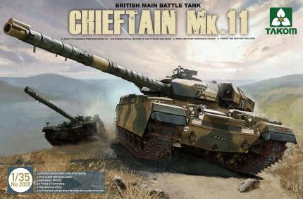 Takom Military 1/35 Chieftain Mk 11 British Main Battle Tank Kit