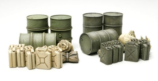 Tamiya Military 1/48 Jerry Can Set Kit