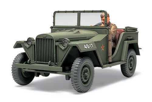 Tamiya Military 1/48 Russian GAZ67B Field Car Kit