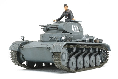 Tamiya Military 1/48 Panzer II A/B/C (SdKfz 121) French Campaign Tank Kit