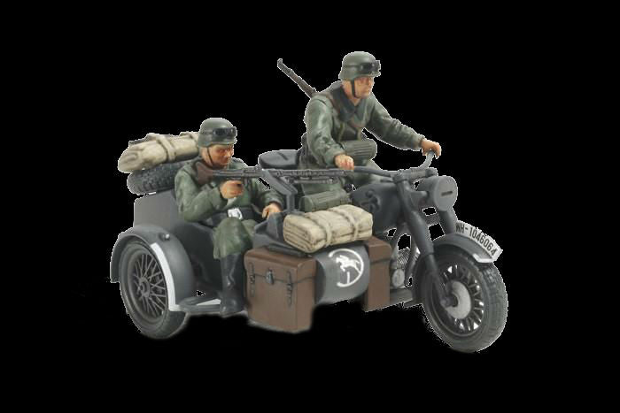 Tamiya Military 1/48 German Motorcycle w/Sidecar Kit