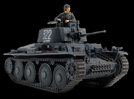 Tamiya Military 1/48 German Panzer 38(t) Ausf E/F Tank Kit