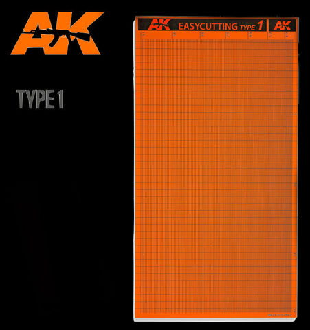 AK Interactive Tools Easy Cutting Type 1 Board