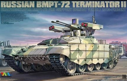 Tiger Military Models 1/35 Russian BMPT-72 Fire Support Combat Vehicle Kit