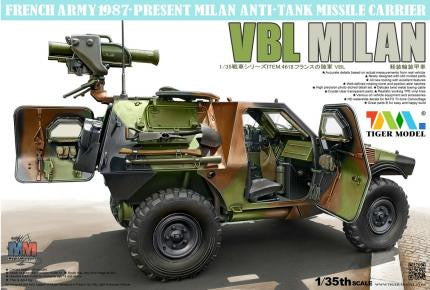 "Tiger Military Models 1/35 French Panhard VBL ""Milan"" Missile Version Kit"
