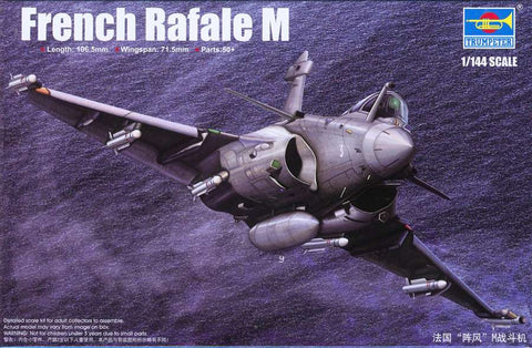 Trumpeter Aircraft 1/144 French Rafale M Fighter Kit