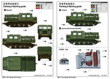 Trumpeter Military Models 1/35 Russian ATS Artillery Tractor (New Tool) Kit