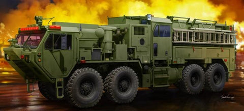 Trumpeter Military 1/35 M1142 HEMTT Tactical Fire Fighting Truck (New Variant) Kit