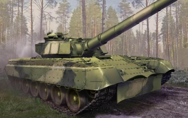 Trumpeter Military 1/35 Soviet Object 292 Tank (New Variant) Kit