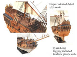 Zvezda Ships 1/72 Black Swan Pirate Ship Kit