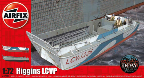 Airfix Ship Models 1/72 Higgins Boat LCVP D-Day (Re-Issue) Kit