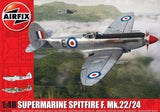 Airfix Aircraft 1/48 Supermarine Spitfire F22/24 Aircraft (Re-Issue) Kit