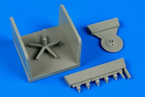 Aerobonus Details 1/32 Adjustable Mechanic Seat