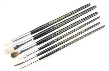 Atlas Brush Co. Economy 6 Piece Brush Set