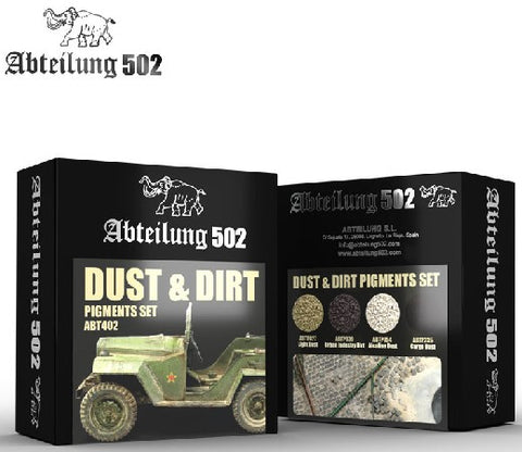 Abteilung 502 Dust & Dirt Pigment Set (4 Colors) 20ml Bottles