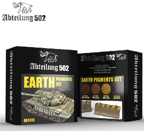 Abteilung 502 Earth Pigment Set (4 Colors) 20ml Bottles