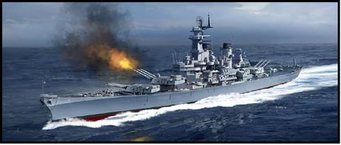 Academy Ships 1/400 USS Missouri BB63 Battleship Kit