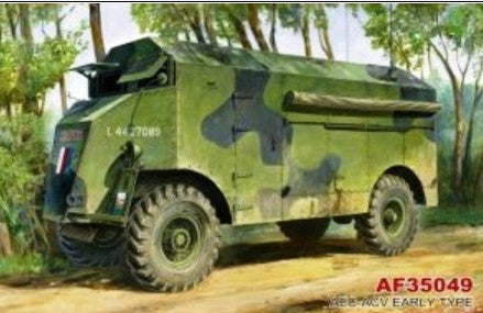 AFV Club Military 1/35 AEC-ACV Early Type Armored Command Vehicle Kit