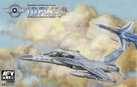 AFV Club Aircraft 1/48 F-CK1D Ching-Kuo Double Seater Republic of China Air Force IDF Fighter Kit